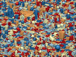 Thingi10K: A Dataset of 10,000 3D-Printing Models