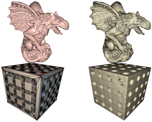 Feature Preserving Octree-Based Hexahedral Meshing