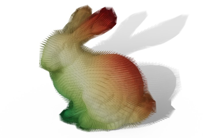 Bijective Projection in a Shell