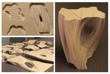 DHFSlicer: Double Height-Field Slicing for Milling Fixed-Height Materials