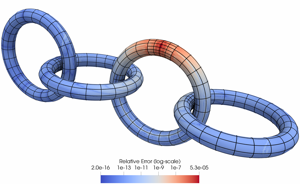 A robust solver for elliptic PDEs in 3D complex geometries