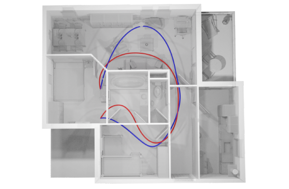 Robust & Asymptotically Locally Optimal UAV-Trajectory Generation Based on Spline Subdivision