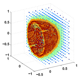 A Free-space adaptive FMM-Based PDE solver in three dimensions