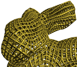 Interactive modeling of topologically complex geometric detail