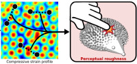A Quantitative Perceptual Model for Tactile Roughness