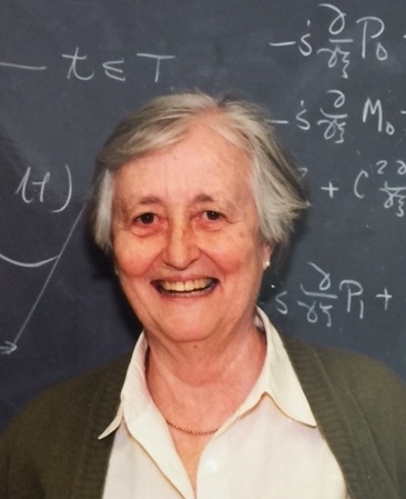 This is a photograph of Professor Emerita Cathleen Synge Morawetz.